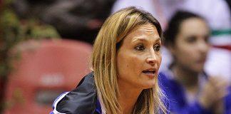 Il Capitano della Nazionale Italiana Tathiana Garbin (foto Costantini)