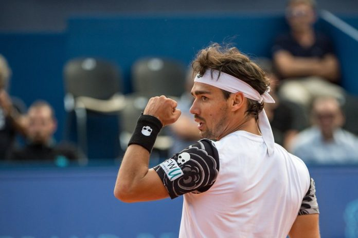 Sideney International, Fognini in semifinale