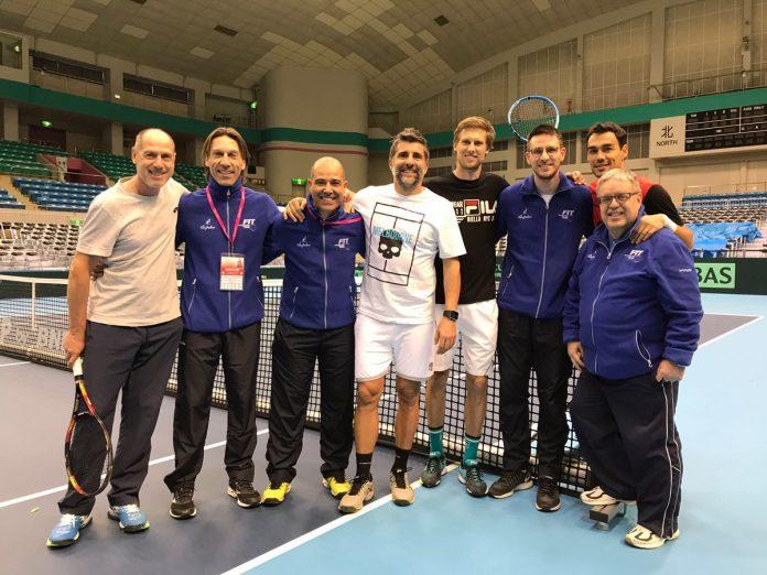 Coppa Davis, Italia e Giappone sull'1-1 dopo la prima giornata